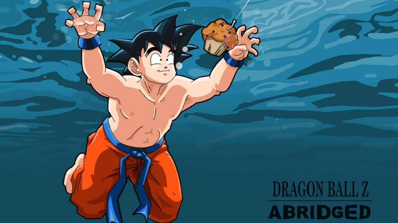 Tv time dragon ball z abridged tvshow time for Dragon ball z bathroom