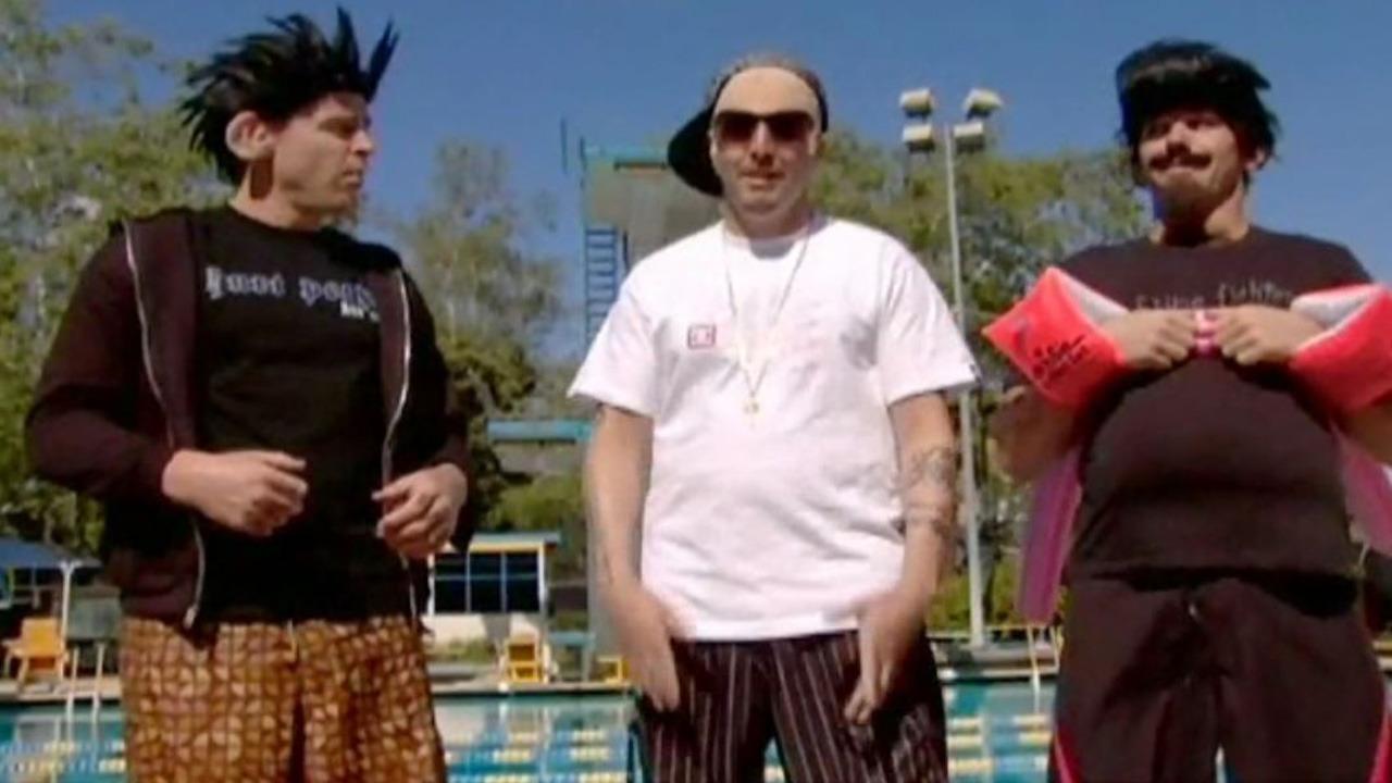 Dodgeball spike stripper tv