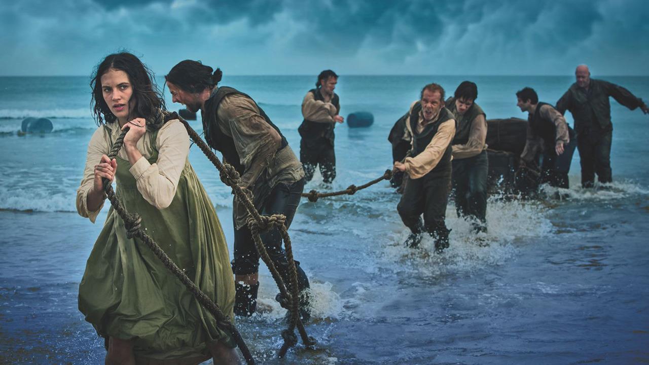Jessica Brown Findlay stars as Mary Yellan in the latest BBC screen adaptation of Jamaica Inn (2014)