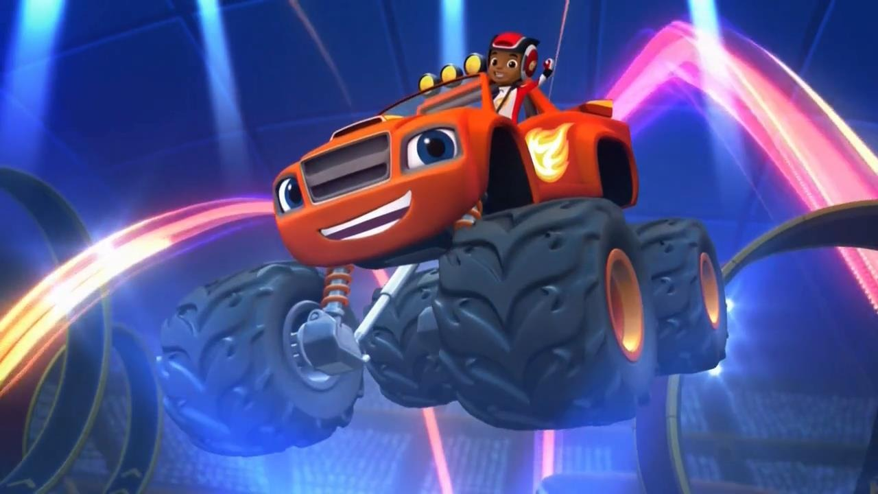 Tv time blaze and the monster machines tvshow time for Blaze episodi