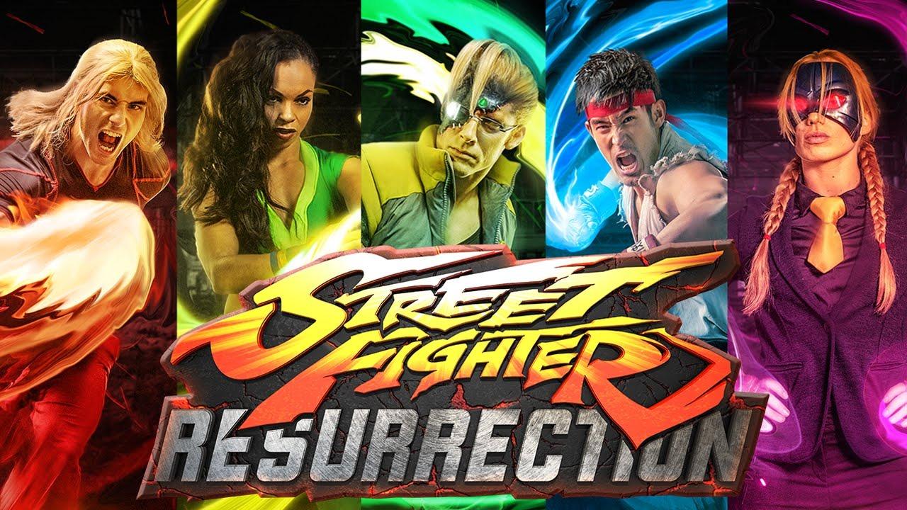 Tv Time Street Fighter Resurrection Tvshow Time