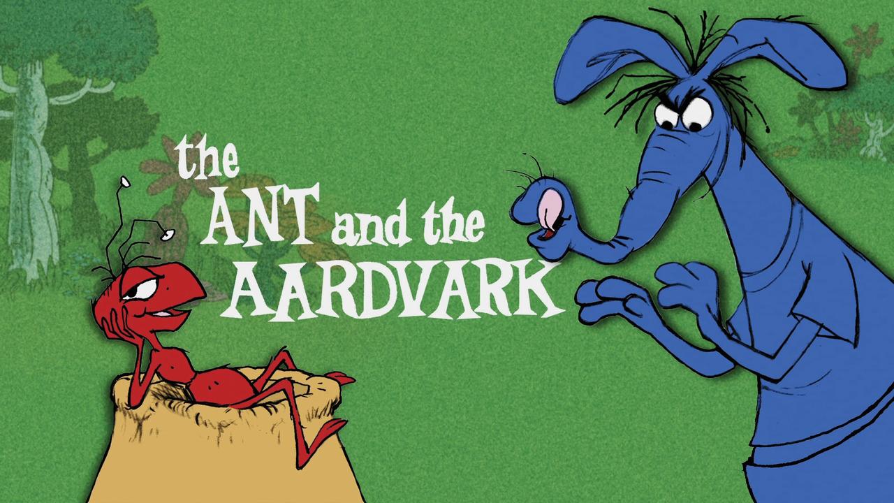 Tv time the ant and the aardvark tvshow time - Fourmi rouge et tamanoir ...