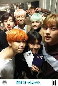 BTS vLive show