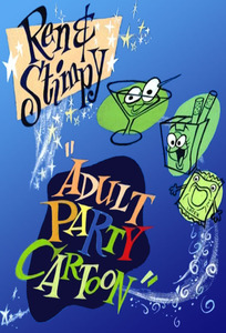 Ren and Stimpy Adult Party Cartoon