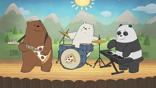 we bare bears pizza band