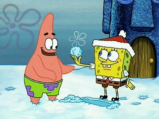 Spongebob Schneeballschlacht