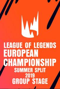 TV Time - LEC Summer Split 2019 - League Of Legends European